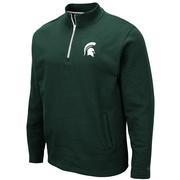 Michigan State Colosseum Men's 1/4 Zip Fleece Pullover