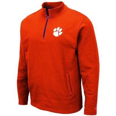 Clemson Colosseum Men's 1/4 Zip Fleece Pullover