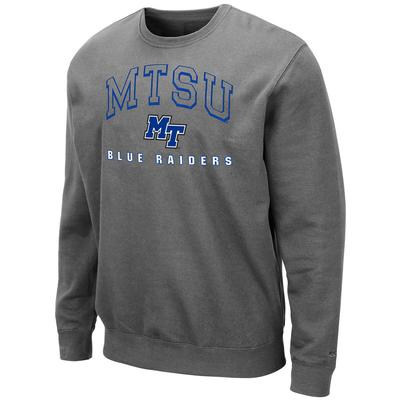 MTSU Colosseum Men's Crew Fleece Pullover