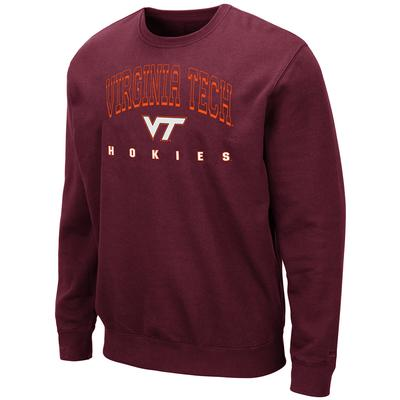Virginia Tech Colosseum Men's Crew Fleece Pullover