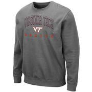 Virginia Tech Colosseum Men's Crew Fleece Pullover
