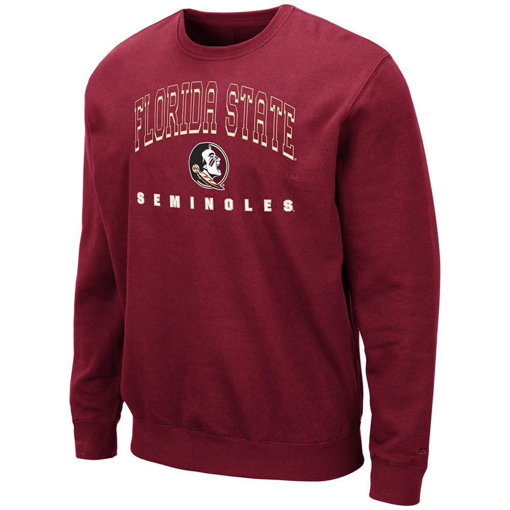 Florida State Colosseum Men's Crew Fleece Pullover