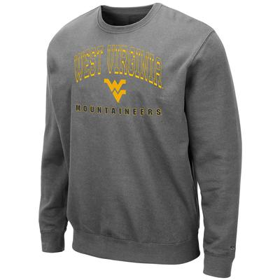 West Virginia Colosseum Men's Crew Fleece Pullover