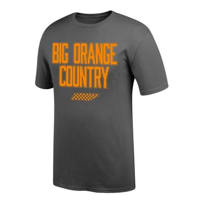 Tennessee Men's Big Orange Country Tee GRAPHITE