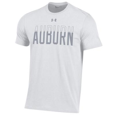 Auburn Under Armour White Color Out Tee Shirt