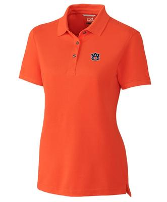 Auburn Cutter And Buck Women's Advantage DryTec Polo
