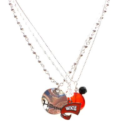 Western Kentucky Trio Necklace