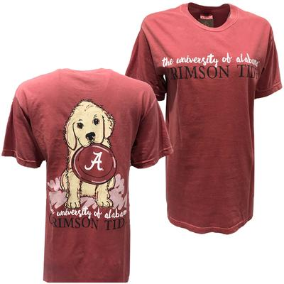 Alabama Frisbee Dog Comfort Colors Tee