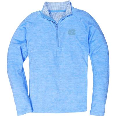 UNC Vineyard Vines Sankaty Performance 1/2 Zip Pullover