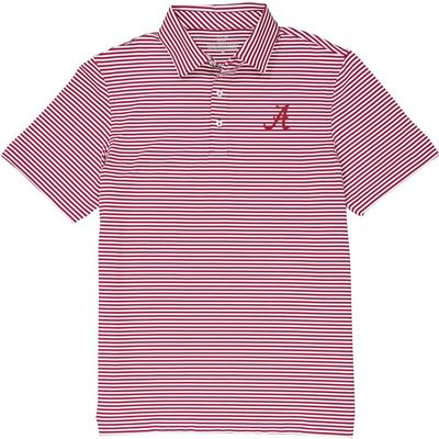 Alabama Vineyard Vines Winstead Stripe Sankaty Performance Polo
