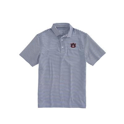 Auburn Vineyard Vines Winstead Stripe Sankaty Performance Polo