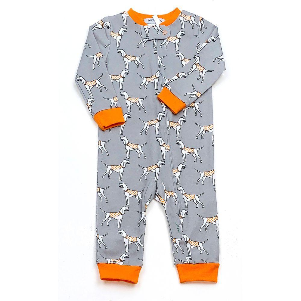 Tennessee Ishtex Infant Printed Zip Pajama