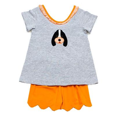 Tennessee Ishtex Toddler Girl Short Set