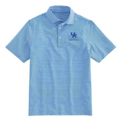 Kentucky Vineyard Vines Winstead Stripe Sankaty Performance Polo