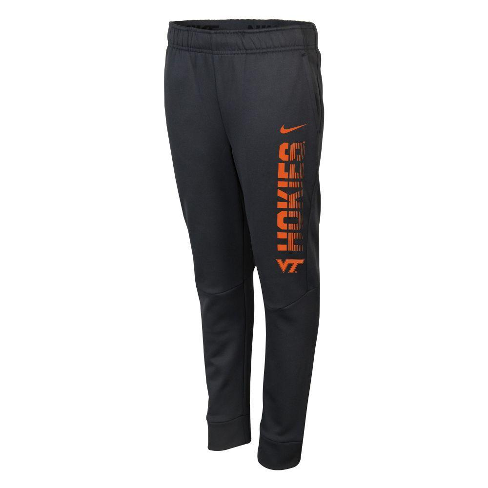 Virginia Tech Nike Boys Therma Tapered Pant