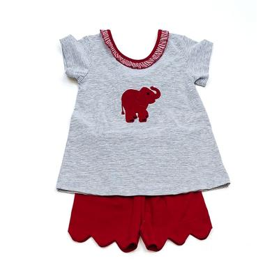 Alabama Ishtex Toddler Girl Short Set