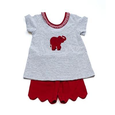 Alabama Ishtex Toddler Girl Short Set