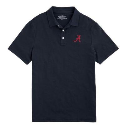 Alabama Vineyard Vines Solid Edgartown Polo