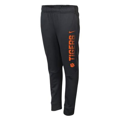 Clemson Nike Boys Therma Tapered Pant