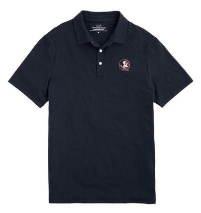 Florida State Vineyard Vines Solid Edgartown Polo