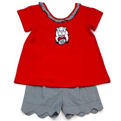 Georgia Ishtex Toddler Girl Short Set