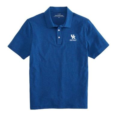 Kentucky Vineyard Vines Solid Edgartown Polo