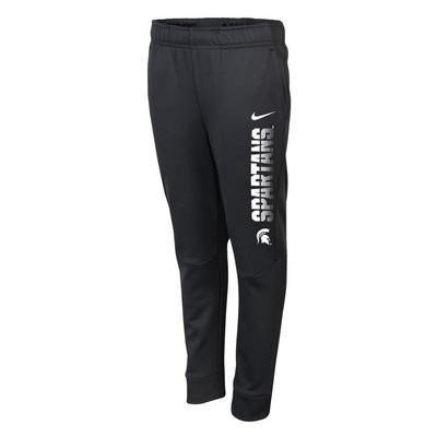 Michigan State Nike Boys Therma Tapered Pant