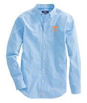 Tennessee Vineyard Vines Gingham Classic Stretch Murray Shirt