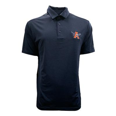Auburn Under Armour Vault Eagle Playoff Heather Polo