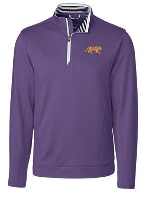LSU Cutter & Buck Endurance Half Zip Pullover