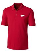 Arkansas Cutter And Buck Drytec Forge Polo