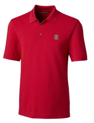 NC State Cutter And Buck DryTec Forge Polo
