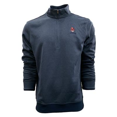 Auburn Under Armour Vault Cartoon Tiger Storm 1/4 Zip Pullover