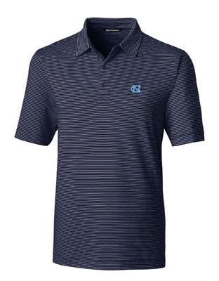 UNC Cutter & Buck Forge Pencil Stripe Polo