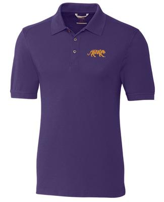 LSU Cutter & Buck Advantage Polo