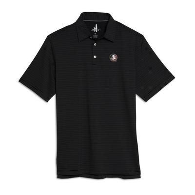Florida State Johnnie-O Men's Pinstripe Albatross Polo