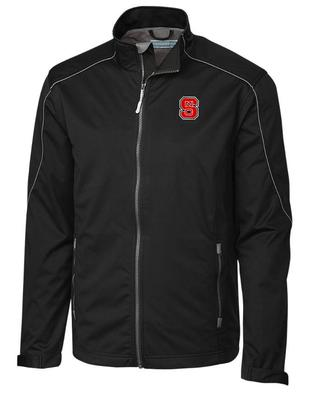 NC State Cutter & Buck Opening Day Weathertec Softshell Jacket