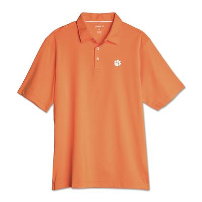 Clemson Johnnie-O Men's Pinstripe Albatross Polo