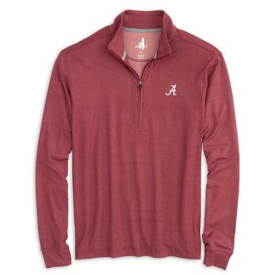 Alabama Johnnie-O Men's Aston 1/4 Zip Pullover