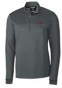 Alabama Cutter & Buck Traverse Stripe Half Zip Pullover