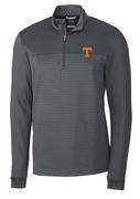Tennessee Cutter & Buck Traverse Stripe Half Zip Pullover