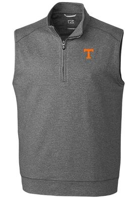 Tennessee Cutter & Buck Shoreline Half Zip Vest