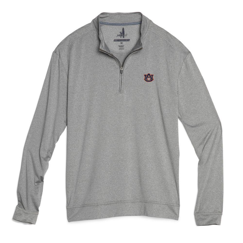 Auburn Johnnie- O Men's Flex 1/4 Zip Pullover