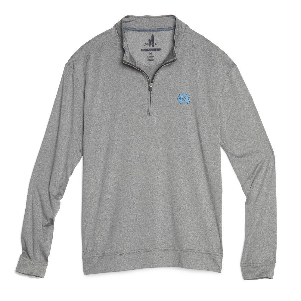 North Carolina Johnnie- O Men's Flex 1/4 Zip Pullover