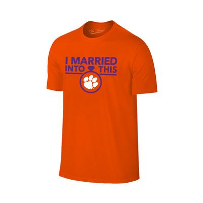 Clemson Married Into This T-Shirt