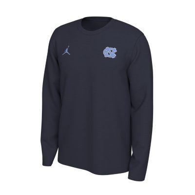 UNC Nike Long Sleeve Dri-FIT Logo Tee
