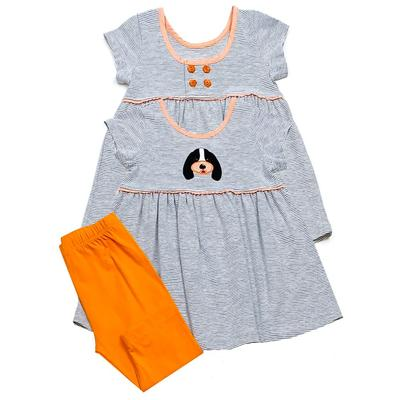 Tennessee Ishtex Girl Dog Capri Set