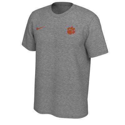 Clemson Nike Short Sleeve Dri-FIT Logo Tee