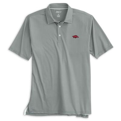 Arkansas Johnnie-O Men's Augie Polo