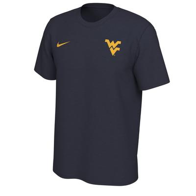 West Virginia Nike Short Sleeve Dri-FIT Logo Tee